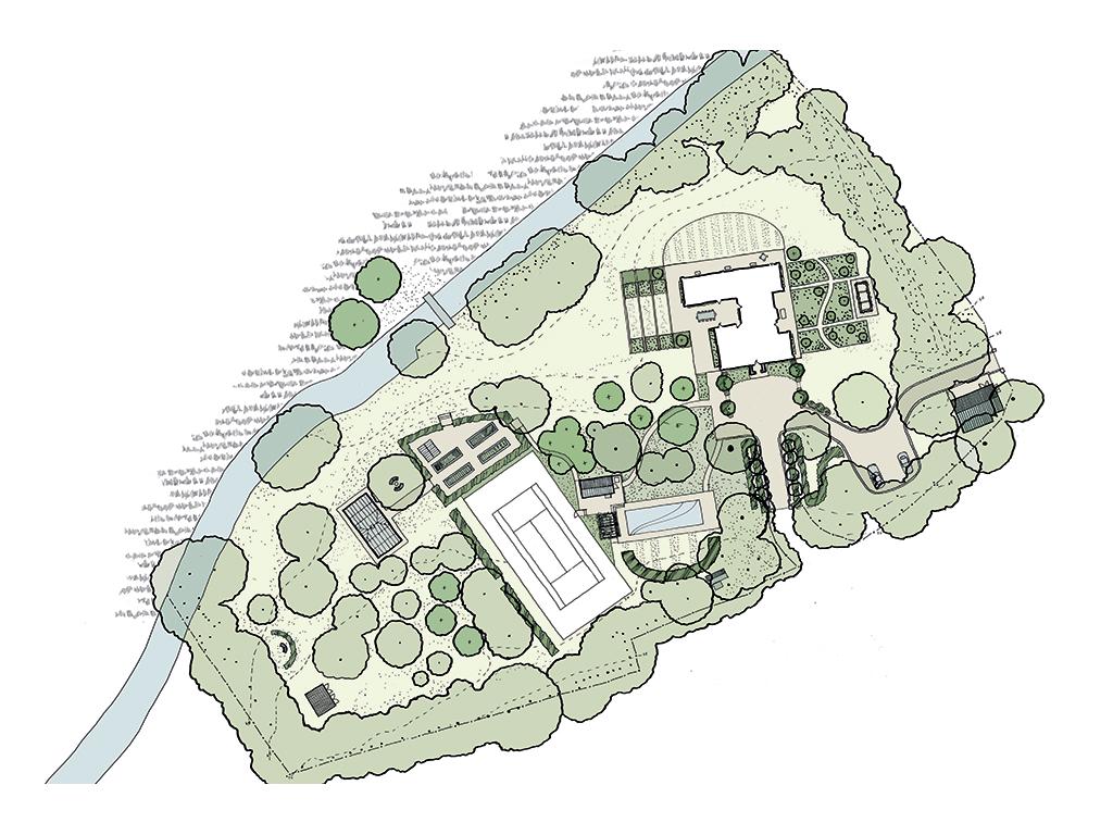 Dutch Manor Plan
