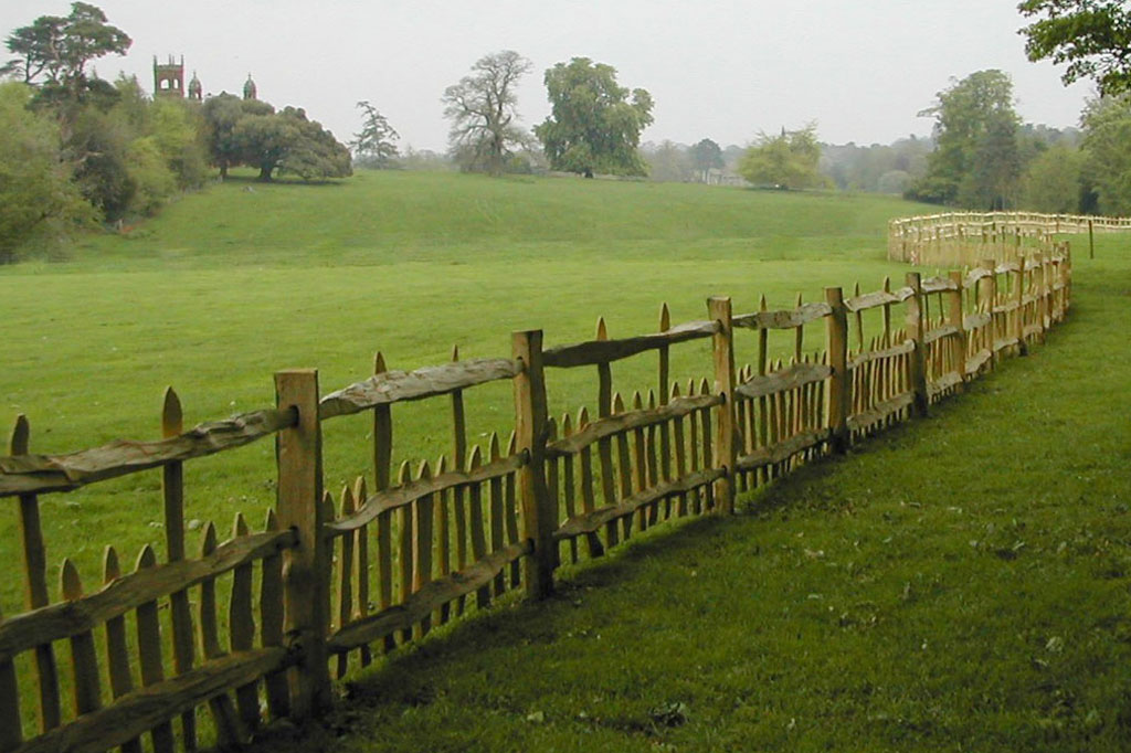 Artisan Split Rail Fencing Cover
