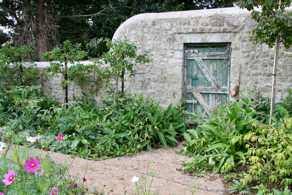 Blackthorn Trust Healing Garden Wall