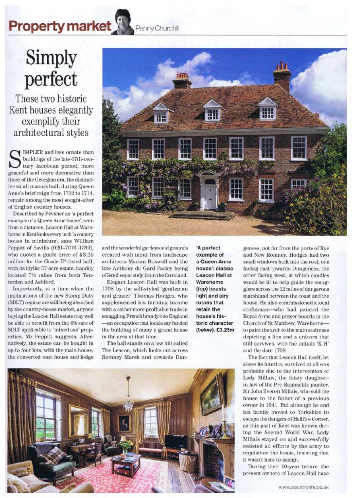 Country Life Aug 2015