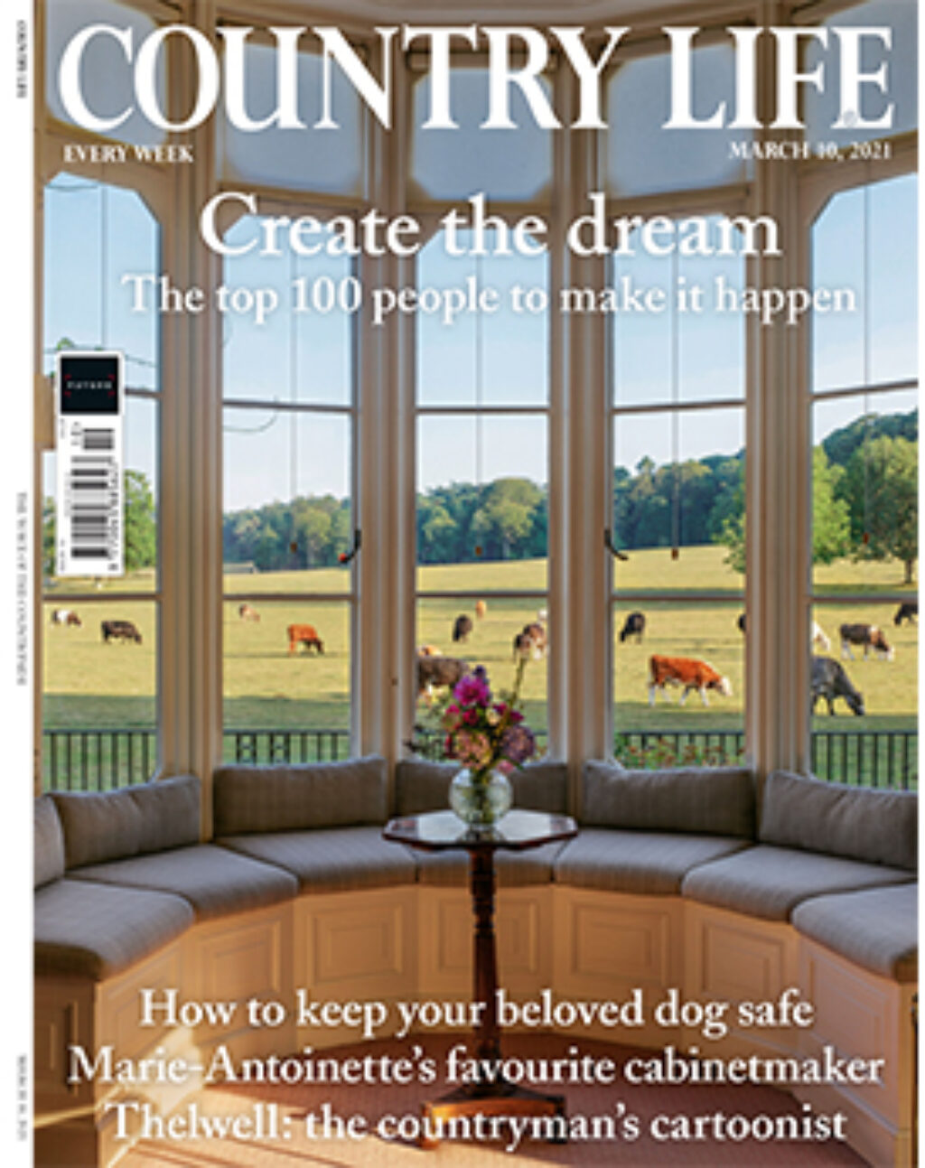 Country Life Cover March 2021