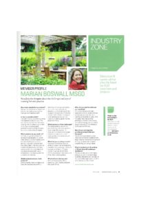 Garden Design Journal April 2018 Practice