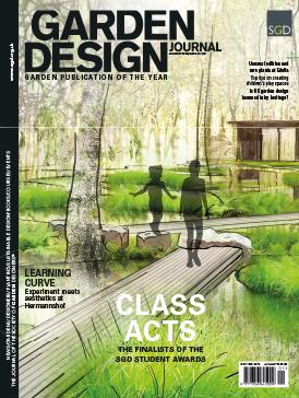 Garden Design Journal Cover January 2020