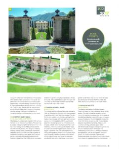 Garden Design Journal November 2017 Brede Place