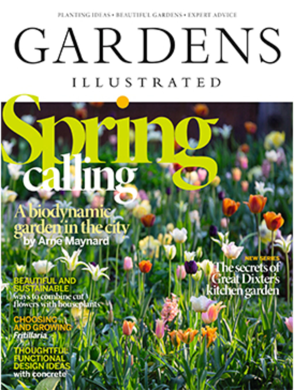 Gardens Illustrated April 2020 Cover