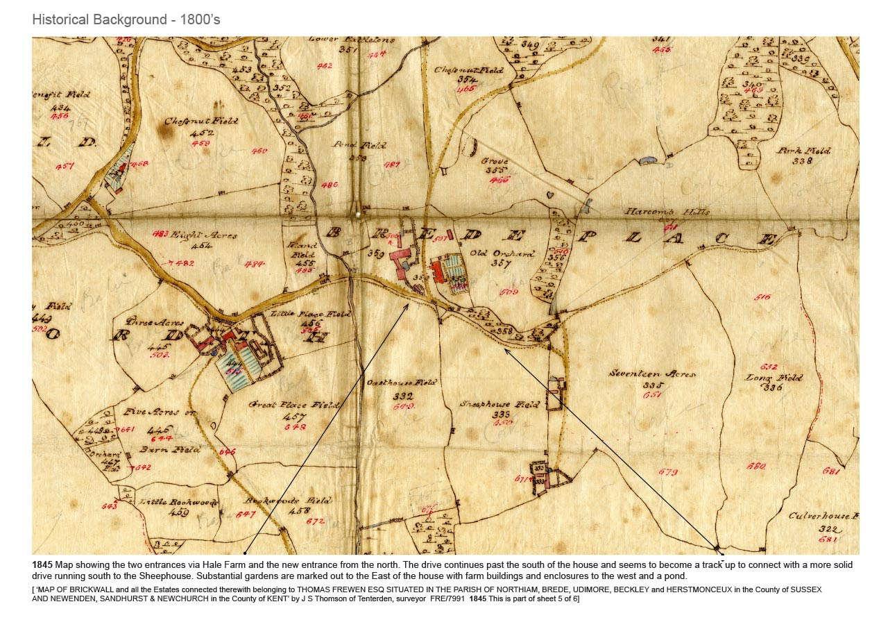 Historical Landscape Research by Marian Boswall