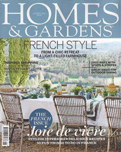 Homes And Gardens August 2016