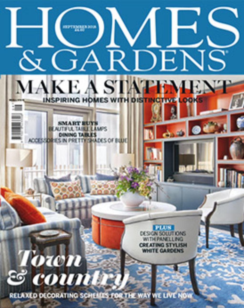 Homes And Gardens September 2018