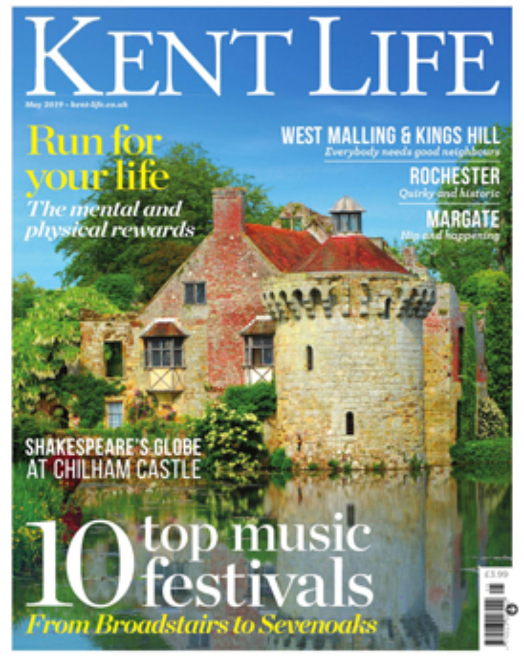 Kent Life May 2019 Cover