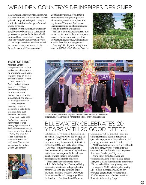 Kent Life SGD Award Marian Boswall Article May