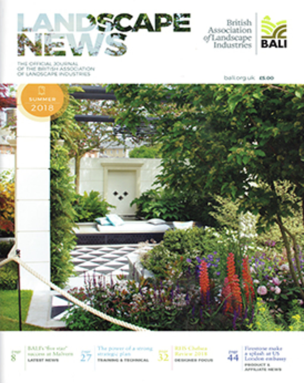 Landscape News Summer 2018 Cover