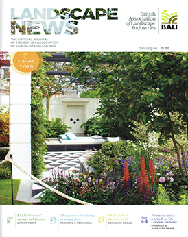 Landscape News Summer 2018 Cover