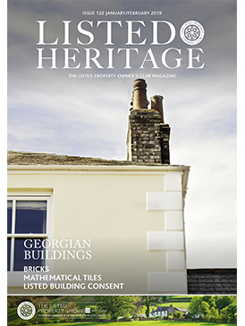 Listed Heritage January 2019