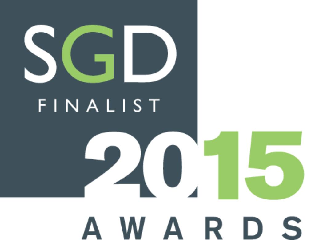 Marian Boswall SGD Award 2015 FINALIST