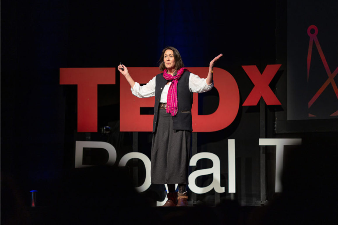 Marian Boswall. Tedx Talk 2020jpg