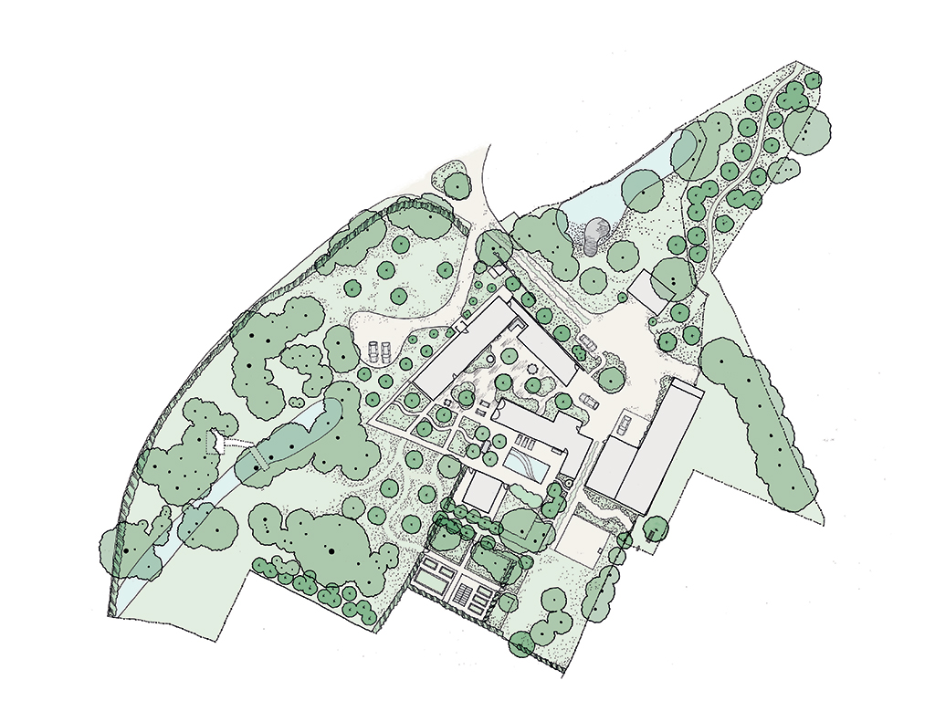 Suffolk Farmstead Plan