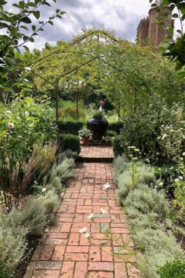 Sissinghurst Brick Path In Basket Weave