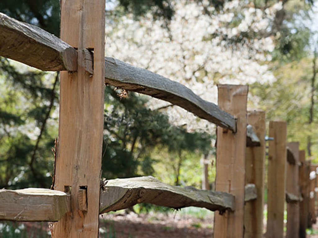 Split Rail Fencing For A Rustic Look