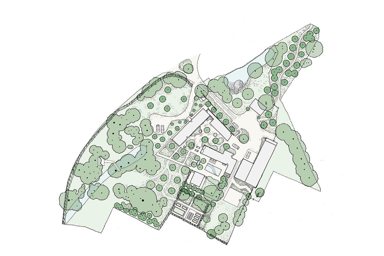 Suffolk Farm House Plan