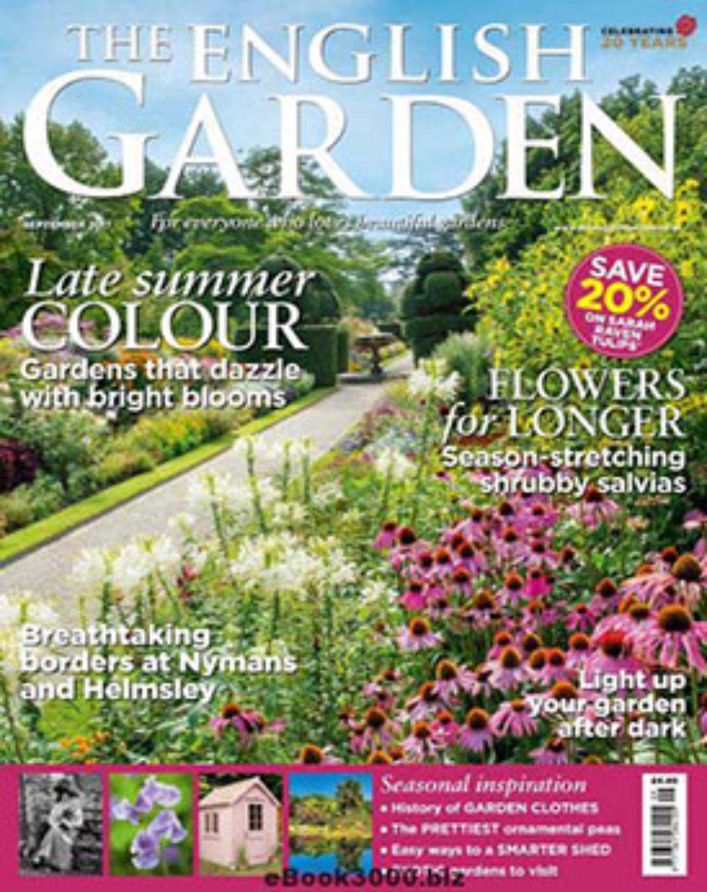 The English Garden September 2017