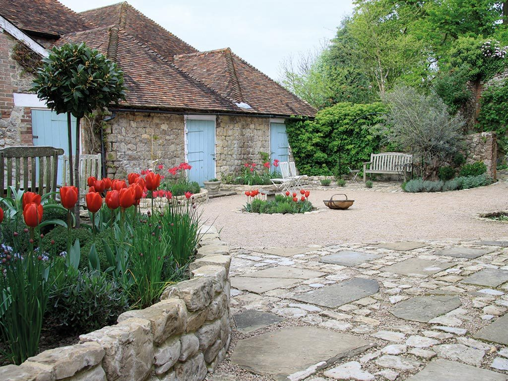 Courtyard Garden Design Kent