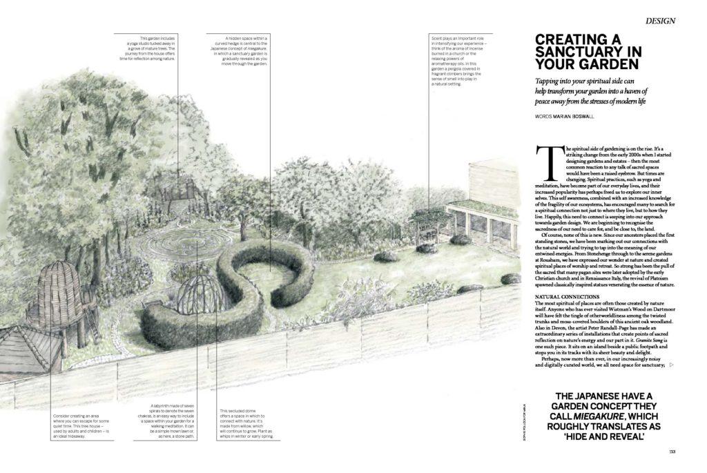 Garden Sanctuary Gardens Illustrated