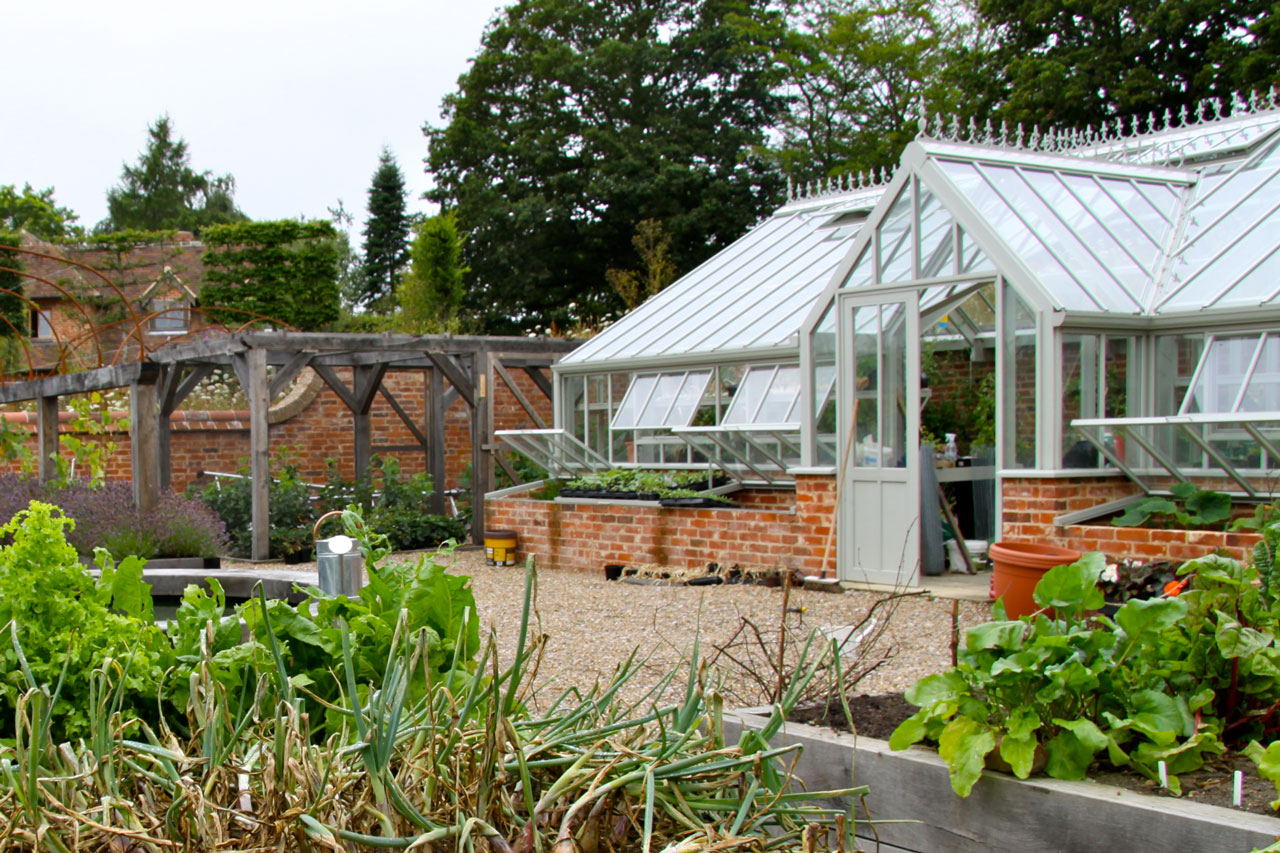 Greenhouse Kitchen Garden