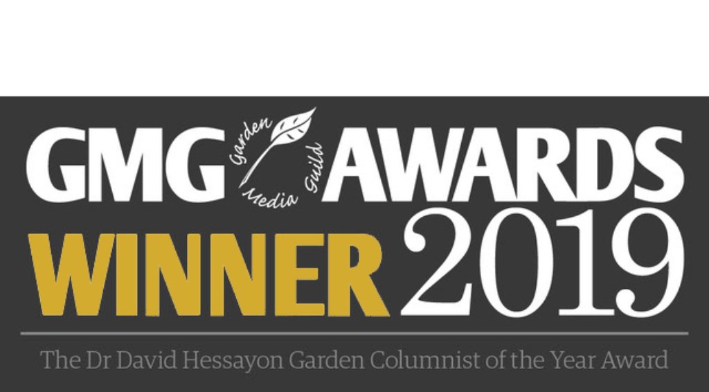 Marian Boswall Garden Media Guild Award Winer 2019
