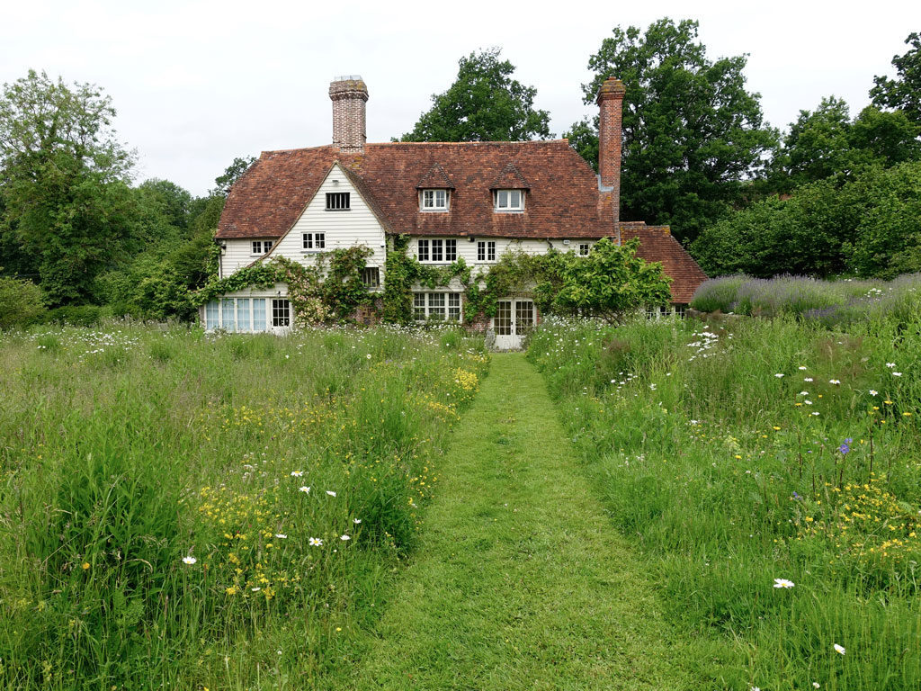 Mown Path Meadow Home
