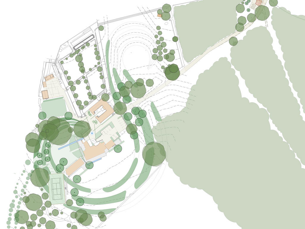 South Downs Contemporary Plan
