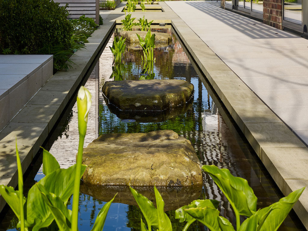 Water Feature Courtyard